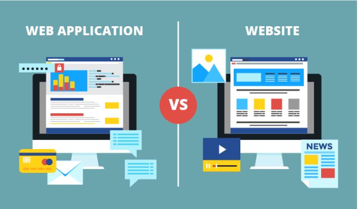 Sự khác biệt giữa website và web app