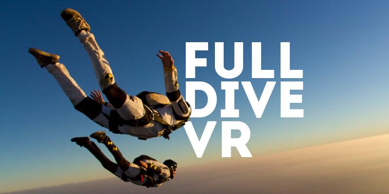 Full Dive mang đến cho người dùng những trải nghiệm mới mẻ nhất từ trước đến nay
