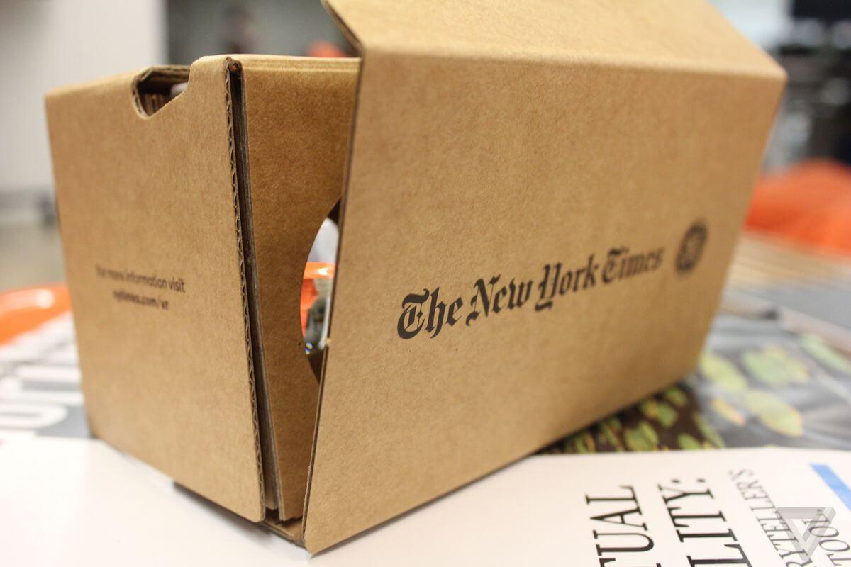 NYT VR là công cụ thực tế ảo cho phép người dùng có thể quan sát rộng