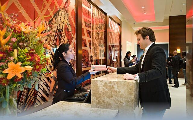 Năm hoạt động tổng thể của toàn bộ khách sạn