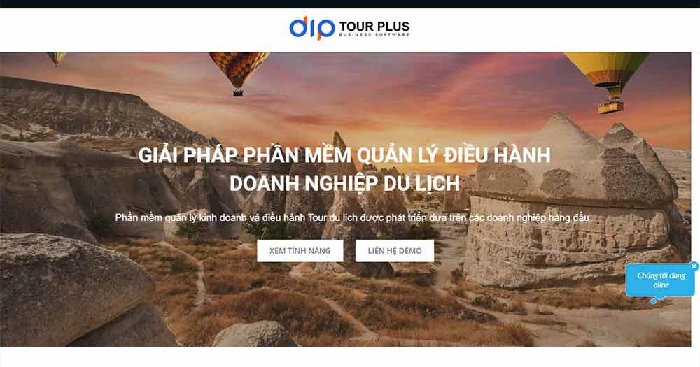Phần mềm quản lý điều hành doanh nghiệp du lịch Tour Plus