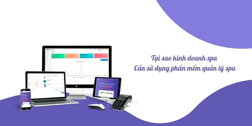 kinh doanh qua phần mềm quản lý spa
